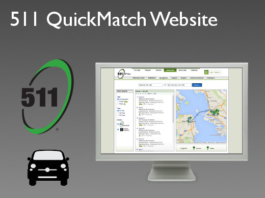 511 QuickMatch Website